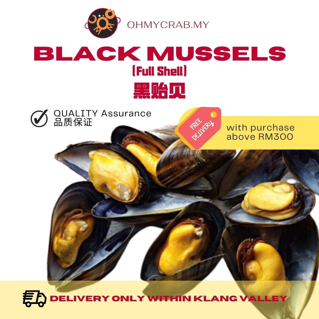 Full Shell Black Mussel